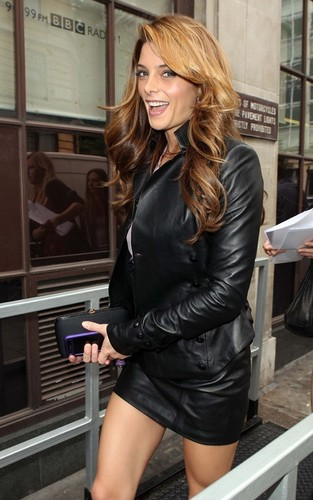 Ashley out @ BBC Studios in London