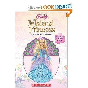 বার্বি as the island princess book