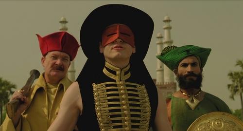 Black bandit, Luigi, Indian