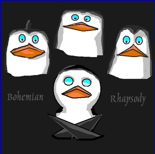 Bohemian Rhapsody-Penguin style!