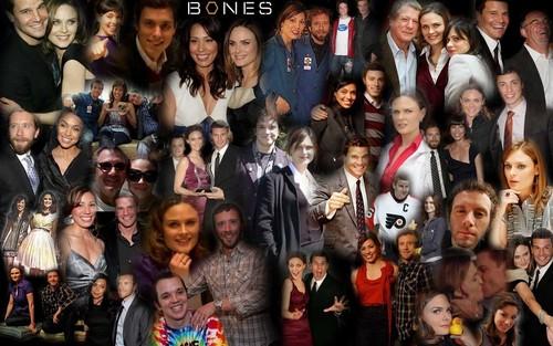 Bones Cast fond d'écran
