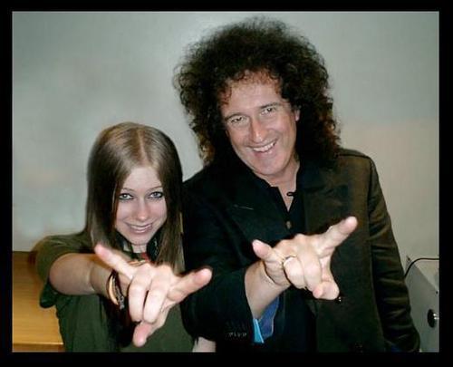 Brian&Avril Lavigne