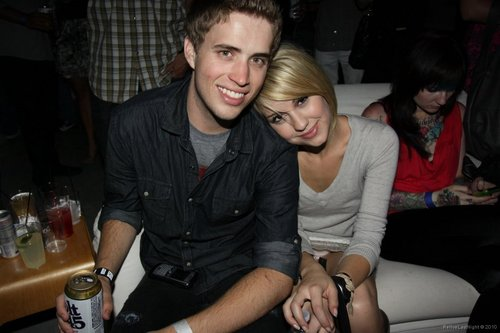 Brian Dales and Chelsea Staub
