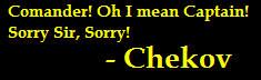 Chekov line