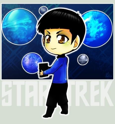 চিবি Spock