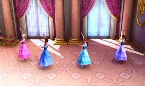 Dancing musketeers???