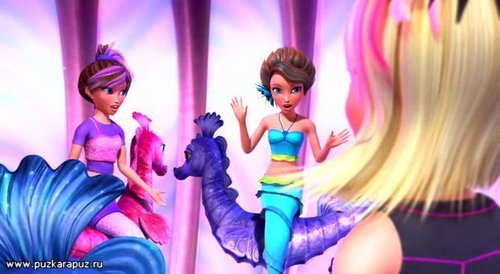 barbie in mermaid tale wallpaper entitled Destinies