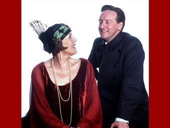 Diana Rigg as Mrs Bradley with Neil Dudgeon as George Moody