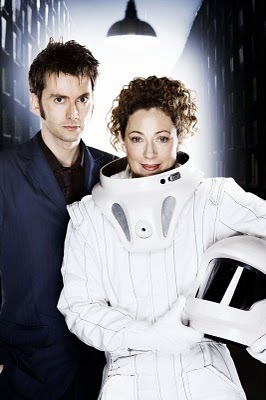 The Doctor and River Song پیپر وال entitled Doctor&River
