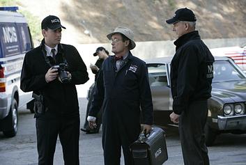 Ducky, Tony and Gibbs
