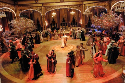 Enchanted Ballroom - BTS - enchanted Photo