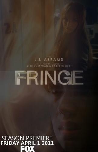 Fringe wallpaper entitled Fanmade Fringe Season 3 Poster