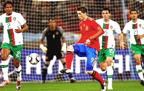 Fernando Torres - Spain (1) vs Portugal (0)