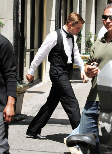 Filming 'WFE' [July 1, 2010]