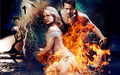 Fire !  - sookie-and-eric wallpaper