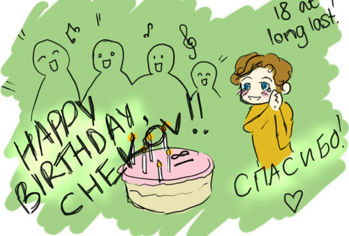 Happy Birthday Chekov