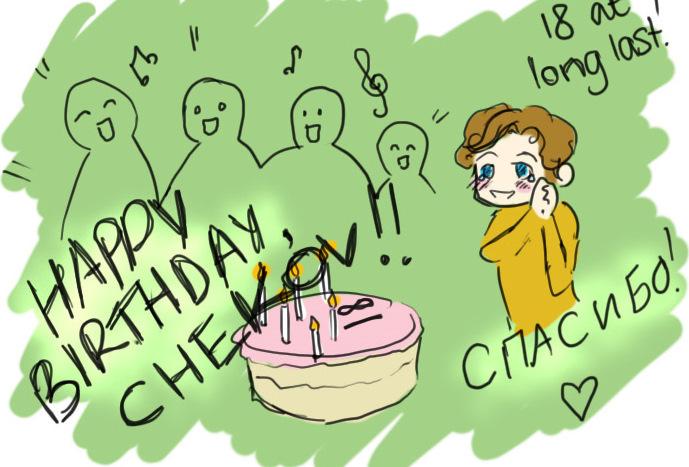 Happy Birthday Chekov