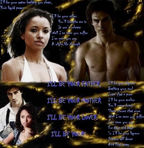 Damon & Bonnie wallpaper entitled I'll be yours