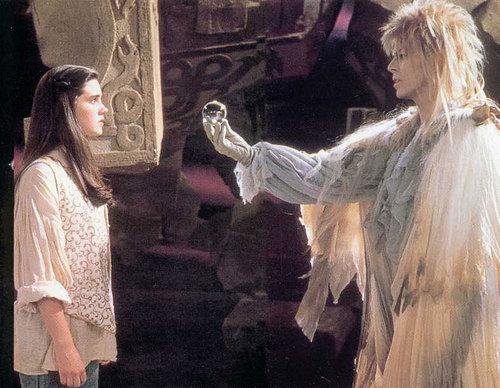 Jareth and sarah - labyrinth Photo