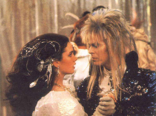 Labyrinth Hintergrund called Jareth and Sarah