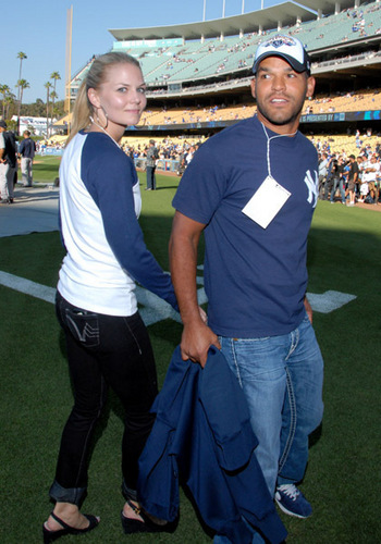 Jennifer @ Dodgers vs. Yankees Pre-Game Event [June 25]