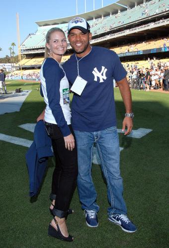 Jennifer @ Dodgers vs. Yankees Pre-Game Event [June 25]
