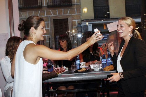 Jennifer @ Mercado de San Miguel in Madrid [June 30]