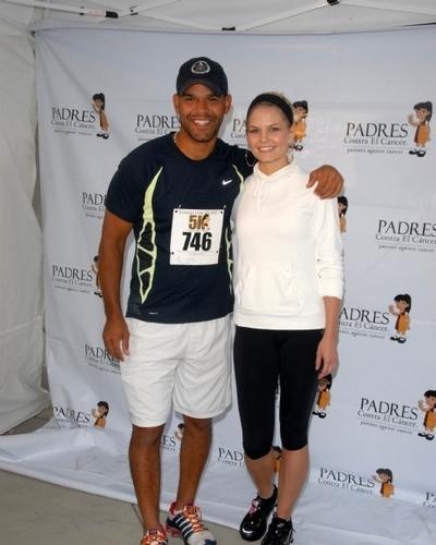 Jennifer @ The Padres Contra El Cancer 5k Run&Walk [June 26]