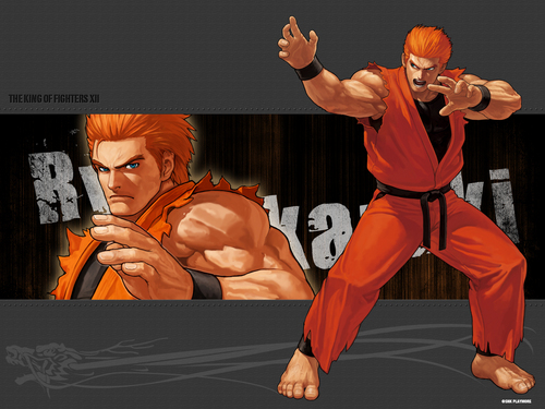 KOF XII- RYO - the-king-of-fighters Wallpaper