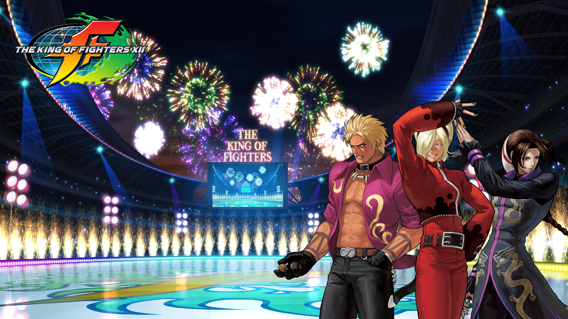 The King of Fighters KOF XII hero team BG