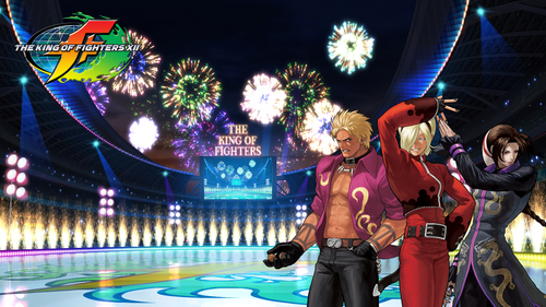 KOF XII hero team BG