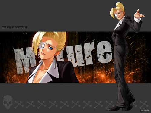 KOF XII - manuya - the-king-of-fighters Wallpaper