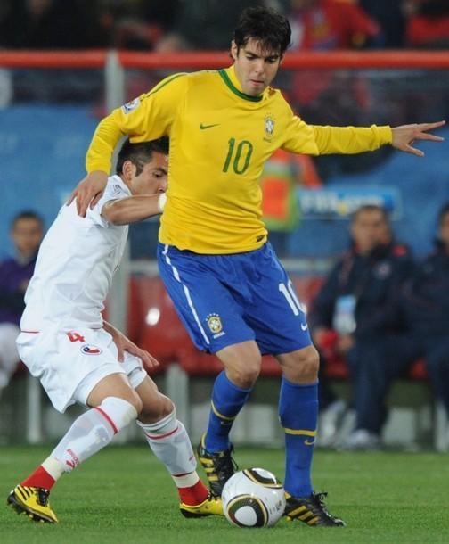 Kaka Brazil: Brazil (3) Vs. Chile (0)