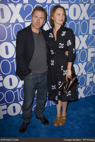 Kelli and Tim in fox, mbweha Upfronts 2010 in NYC