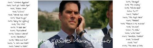 Key Episodes: Aaron Hotchner