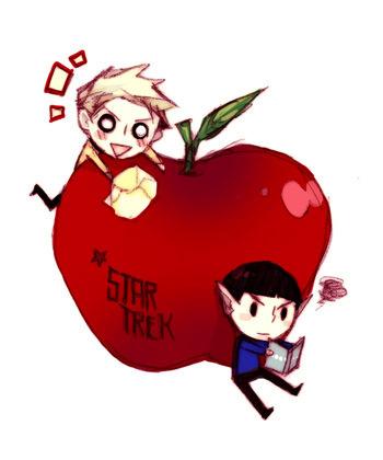 Kirk and 林檎, アップル