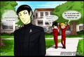 Kirk mad at spock - star-trek-2009 fan art