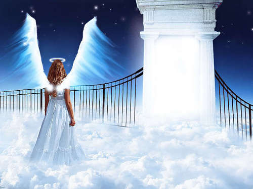 Knocking On Heavens Door - angels Photo