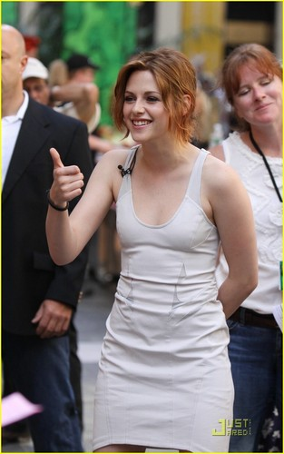 Kristen Stewart Takes on Today