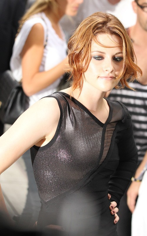 Kristen @ the Late Show