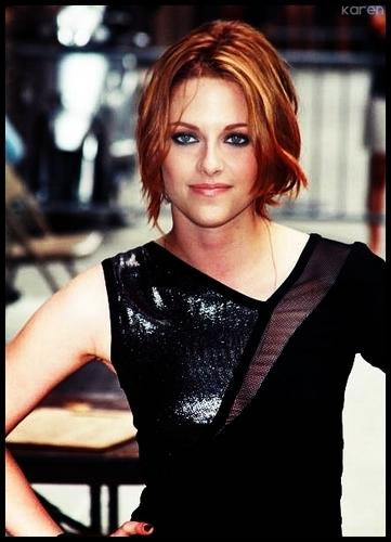 Kristen w/ new hair