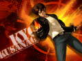 Kyo- resistence is flammable by hanawa - the-king-of-fighters wallpaper