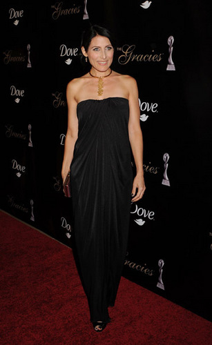 Lisa Edelstein-35th Annual Gracie Awards Gala 2010