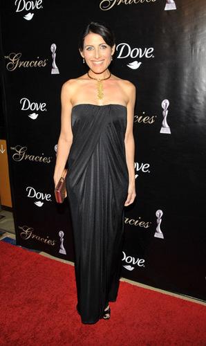 Lisa Edelstein-35th Annual Gracie Awards Gala 2010