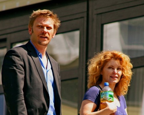 Mark Pellegrino wallpaper entitled Mark with wife