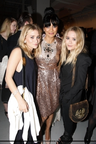Mary-Kate & Ashley at the NYC 12th Annual Art Auction - After Party