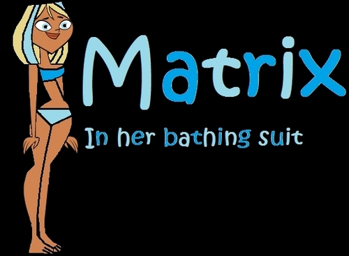 Matrx in her bathing suit!