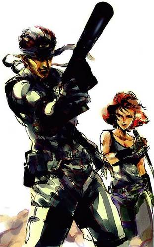 Meryl+Snake Team Up