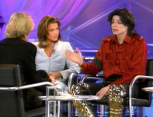 Michael & Lisa Marie Prime Time 1995