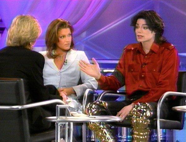 Michael & Lisa Marie Prime Time 1995